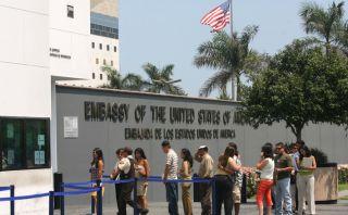 Embajada de EE.UU. continúa con atención y entrega de visas