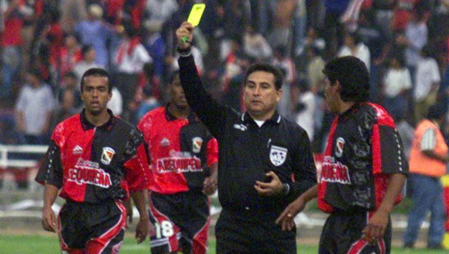 Hace 20 años, estos eran los árbitros del fútbol peruano