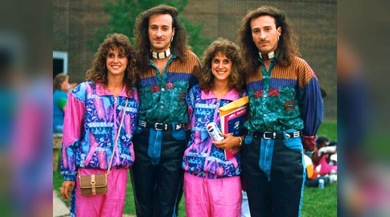Recuerda en fotos algunos de los peores looks de los años 80