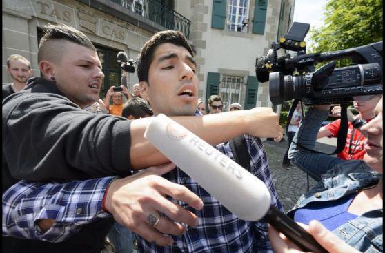 Suárez declaró cinco horas ante el TAS para rebajar su sanción