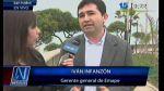 Emape responde a San Isidro: Respetamos todos los acuerdos - Noticias de ivan infanzon