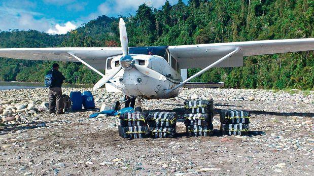Bolivia es el destino del 95% de los narcovuelos del país