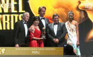 Perú elegido mejor destino cultural y culinario de Sudamérica
