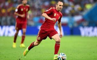 Andrés Iniesta no piensa en dejar la selección española