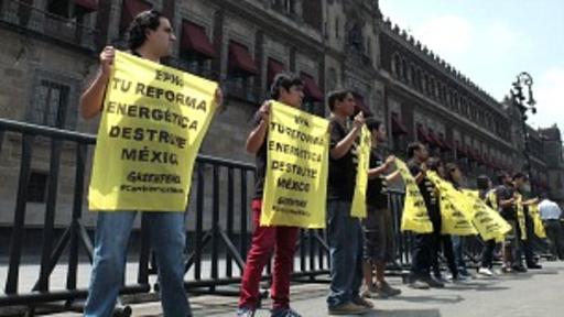 La reforma ha generado fuertes protestas en México. Foto Getty Images.