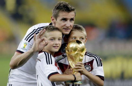 Repasa en imágenes la carrera mundialista del histórico Klose