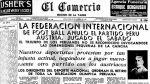 Así ocurrió: En 1936 FIFA anula partido que ganó Perú a Austria - Noticias de bartolome herrera