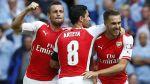 Arsenal goleó 3-0 al City y conquistó la Community Shield - Noticias de wembley