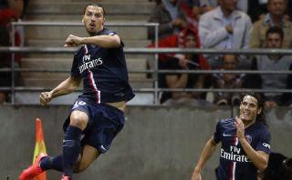 Zlatan no para: hoy le anotó al Nápoli en partido amistoso