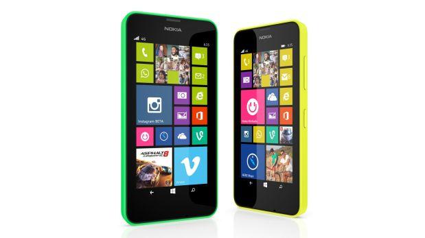 Así luce el Nokia Lumia 630 de Microsoft. (Foto: Difusión)