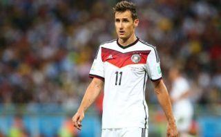 Miroslav Klose ya eligió a su sucesor en la selección alemana