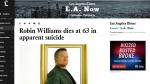 Murió Robin Williams: así informa la prensa internacional - Noticias de obituarios