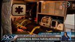 Camión vuelca y casi aplasta a cinco serenos del Callao - Noticias de clinica ventura