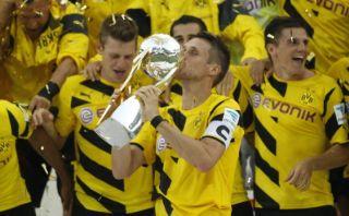 Borussia derrotó 2-0 a Bayern y ganó la Supercopa alemana