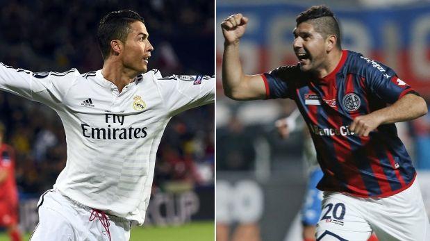 Real Madrid vs San Lorenzo