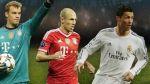 Ronaldo, Robben y Neuer candidatos a Mejor Jugador de Europa - Noticias de nominados al mejor gol del 2013