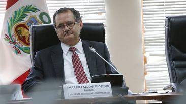 Congreso rechazó pedido de renuncia de Marco Tulio Falconí