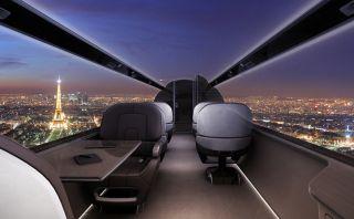 Viajar en este jet te dará la sensación de estar flotando