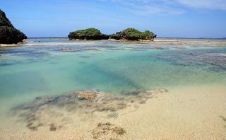 Esta playa de Japón tiene granos de arena con forma de estrella
