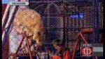 Cusco: grabaron terrible ataque de león a profesora en circo - Noticias de roxana miranda