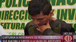 Capturan a un asaltante de turistas extranjeros - Noticias de aeropuerto internacional jorge chávez