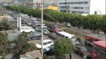 Surco: entre la inseguridad y congestión vehicular - Noticias de puente primavera