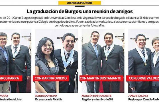 Nexos de Solidaridad con Burgos nacen con ex asesora