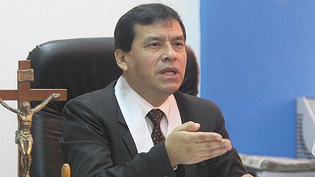 Eduardo Loloy Anaya, titular del Primer Juzgado Civil Permanente de Huaura. (Difusión)