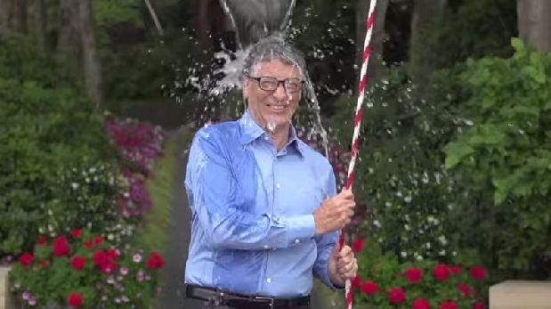 Bill Gates y otros 'gurús' que hicieron el Ice Bucket Challenge