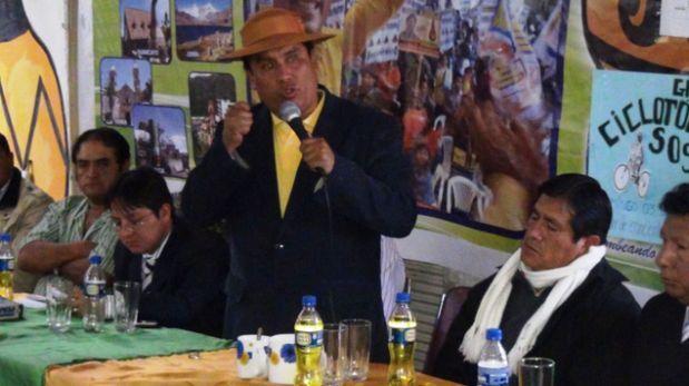 Candidato a región Junín fue sentenciado por cobro irregular