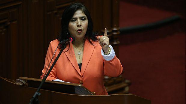 Ana Jara va hoy al Congreso en busca del voto de confianza