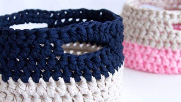 Diy crea tu propia canastilla para el hogar con crochet - Crea tu propia casa ...