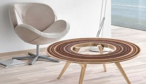 De herramienta a protagonista: Mira estos muebles de lija