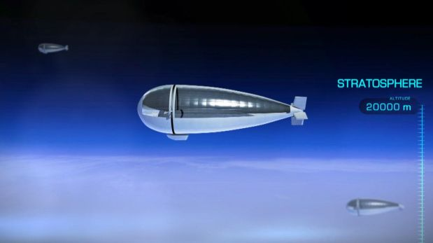 El dispositivo se elevará 20 km sobre el suelo, superando el tráfico aéreo. (Foto: Thales Group)