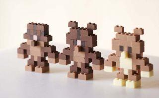 Crea objetos únicos con estas piezas de Lego comestibles