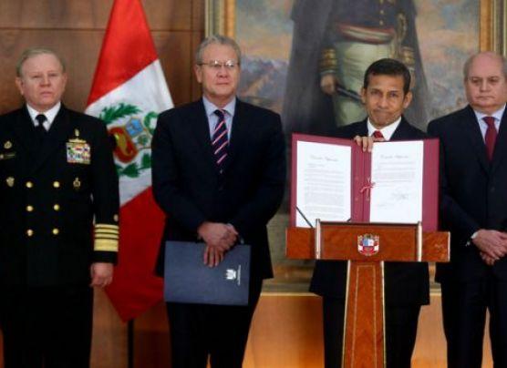 """Humala sobre frontera con Chile: """"No faltamos a la verdad"""""""