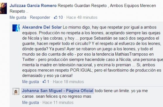 "¿Johanna San Miguel renunció a ""Esto es guerra""?"
