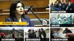 Voto de confianza: Ana Jara y las claves de su discurso - Noticias de lambayeque