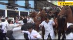 Huelga médica: Así fue el enfrentamiento de galenos y policías - Noticias de federación médica del perú