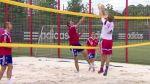 No todo es fútbol: jugadores del Bayern también juegan vóley - Noticias de jugadoras de voley