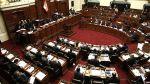 Pleno dio primera luz verde a reducción de Impuesto a la Renta - Noticias de casio