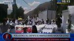 Pobladores de Amarilis exigen justicia tras crimen de alcalde - Noticias de meones en la calle
