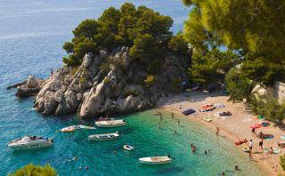 Recorre Brela, la playa más paradisíaca y 'secreta' de Europa