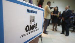 Elecciones 2014: lista de miembros de mesa brindada por la ONPE