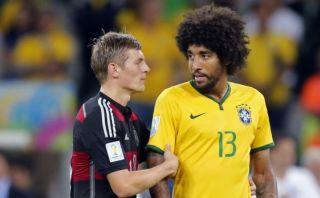 Brasileño Dante todavía sufre la derrota por 7-1 ante Alemania