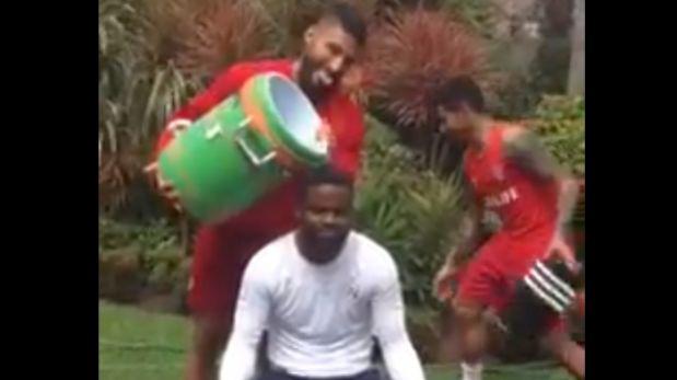 Montaño hizo el Ice Bucket Challenge y retó a Julio César Uribe