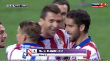 El gol de Mandzukic que le dio el título al Atlético de Madrid