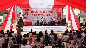 Produce convocó a empresarios a participar del Premio Mype 2014