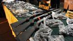 Policía incauta un arsenal en una casa de Chorrillos - Noticias de sucamec