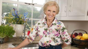 "Mary Berry, la ""reina"" inglesa de los pasteles"